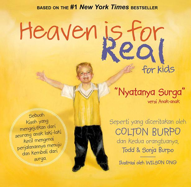 Heaven is for Real for Kids - Nyatanya Surga versi Anak-anak