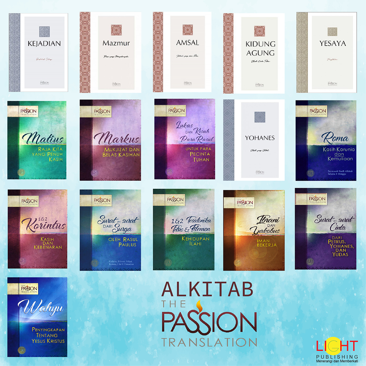 Alkitab The Passion Translation (PB + 4 PL)